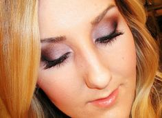 Spring Smokey Eye: Purple & Bronze Makeup Tutorial by Tiffany D. Looks like a great beauty blog!