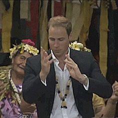 Painful, awkward yet so wonderful: 11 celebrities dancing like fools. Here, Prince William.