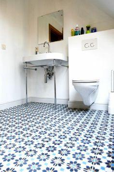Cement tiles - Project Hartman - Bathroom