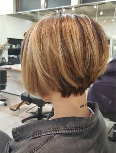 Short Bob Haircuts, Short Hairstyles For Women, Easy Hairstyles, Asian Short Hair, Short Hair Cuts, Short Hair Styles, Bob Hair Color, Haircut And Color, Love Hair