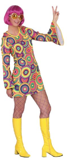 Perfect outfit or accessory for any 1960's themed parties. 1960, 60s Hippies, Hippy, Peace, Psychedelic, Sixties. Butlins, Hen do's, Stags, Festivals.
