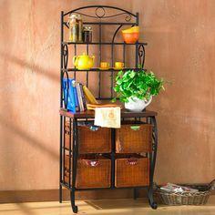 Wildon Home Storage Baker's Rack