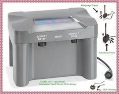 Akkubox 12Volt 7Ah für Solarpumpe Teichpumpe Napoli Siena Milano 101816