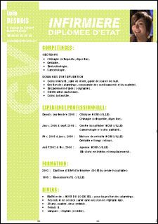Infirmiere Cv Infirmier Exemple Cv Lettre De Motivation Infirmiere