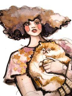 http://www.mymodernmet.com/profiles/blogs/glittering-fashion-illustrations-katie-rogers
