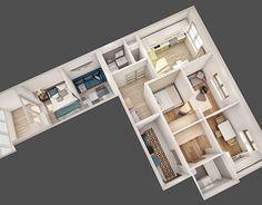 "Check out new work on my @Behance portfolio: ""Визуализация вида сверху перепланировке квартиры."" http://be.net/gallery/45985257/vizualizacija-vida-sverhu-pereplanirovke-kvartiry"