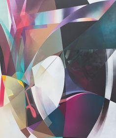 RAPHAEL BORER AND LUKAS OBERER - UNTITLED - ARTSTÜBLI  http://www.widewalls.ch/artwork/raphael-borer-and-lukas-oberer/untitled-40/ #painting
