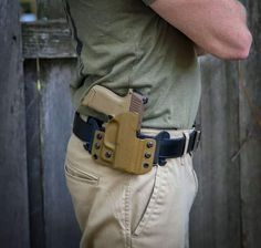UNIQUE DESIGN Our Custom formed holsters are designed for outside the waistband concealed carry. Holsters are specially formed on a curve to bring the gun close to your body and show less printing while conceal carrying a gun.