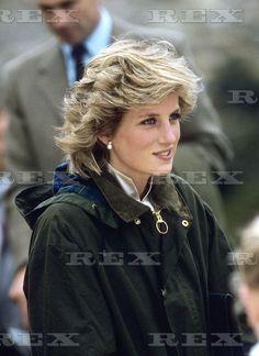 1985 07 18 Princess Diana visits Barra in the Western Isles of Scotland, Britain