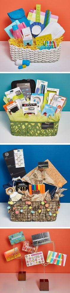 Great gift baskets that keep on giving with gift packaging, products and Store More Cards - only with The Container Store.