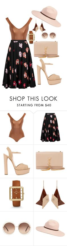 Be the one by amystyles-i on Polyvore featuring mode, Rochas, Zimmermann, Casadei, Yves Saint Laurent, STELLA McCARTNEY, FOSSIL, Chloé and Billabong