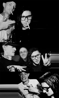 Skrillex and Deadmau5