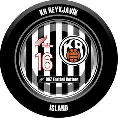 DNZ Football Buttons: KR Reykjavík
