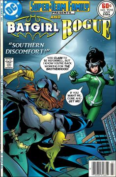 Super-Team Family: The Lost Issues!: Batgirl and Rogue