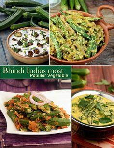 Top 10 Bhindi Recipes | TarlaDalal.com | #86
