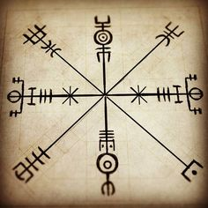 """Revised version of """"møðiríkr"""" - for those who don't feel the need for strengthening femininity: """"Bættmøðiríkr"""" - A spokesigil with the purpose of strengthening maternal vigor, clarity and more self awareness.  #pagan #witchcraft #asatru #magick #sigils #runes #lønruner"""