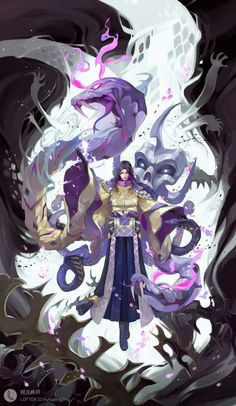 Game Character Design, Character Concept, Character Art, Concept Art, Oriental, Fantasy Characters, Anime Characters, The Ancient Magus, Elfa