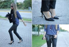 Leather Love (by MVAP STYLE) http://lookbook.nu/look/4496001-Leather-Love