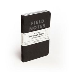 Library: Field Notes, Pitch Black x3