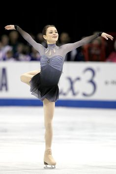Sasha Cohen  -Grey Figure Skating / Ice Skating dress inspiration for Sk8 Gr8 Designs.