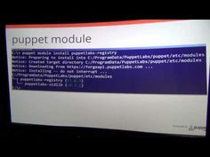 Getting Started with Puppet on Windows - Puppet Camp Portland 2015 - YouTube
