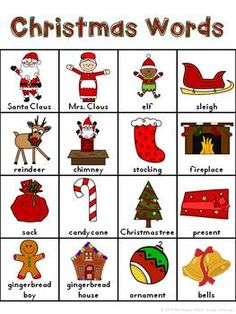 WRITING CENTER FOR K & 1ST GRADE (DECEMBER, JANUARY, CHRISTMAS, SNOW, & MORE!) - TeachersPayTeachers.com
