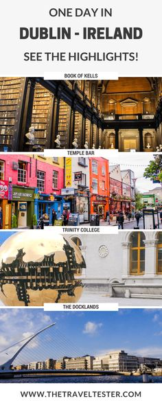 One day in Dublin? See the Highlights with these Tips || Ireland Travel Tips by The Travel Tester