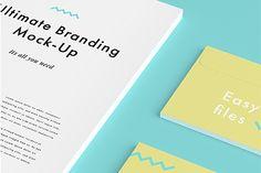 Ultimate Branding Mockup – Free Sample