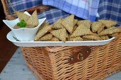 ako pripravit krekry Picnic, Health Fitness, Cooking Recipes, Snacks, Healthy, Food, Appetizers, Chef Recipes, Essen