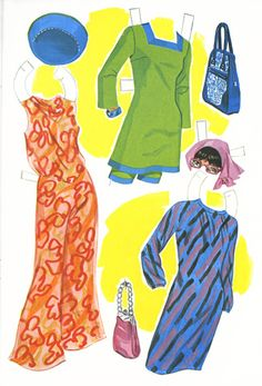 More clothes for Marlo Thomas as That Girl