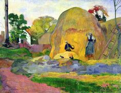 Golden Harvest 1898 | Paul Gauguin (1848–1903)