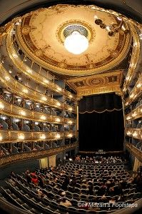 """The Estates Theater in Prague is where Mozart's """"Don Giovanni"""" was first performed, and where the opera scenes in """"Amadeus"""" was filmed."""