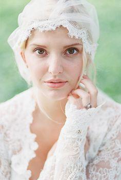Outdoor Bridal Inspiration in Long Sleeve Lace Dress   Wedding Sparrow   Lexi Vornberg