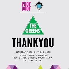 #Chasers and #PoofDoof would like to thank the volunteers of The Greens Higgins for Jason Ball and their successful Thank You party last Saturday with us at Chasers Nightclub 386 Chapel Street South Yarra For any function enquiry's email us at info@chasersnightclub.com.au