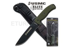 U.S. Marines by MTech USA USA M-1022GNCS FIXED BLADE KNIFE