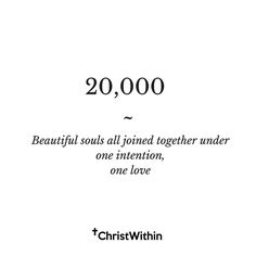 20000 individuals gathering together to share messages of strength truth and love. - With the age of social media and the ability to connect our messages of love and inspiration so easily it is one of the most exciting times to be alive. - My deepest gratitude and love for each one of you participating in this community. - The intention of this account goes beyond any religion or denomination. The emphasis is on a LIVING EXPERIENCE with the God that resides within YOURSELF. To live AS CHRIST…