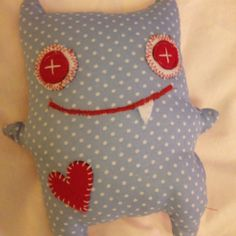 Little fabric Monster i did!