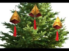 Making a German Bell - Christmas decoration