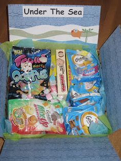 Under the Sea Care Package - include Little Mermaid dvd for Shea.