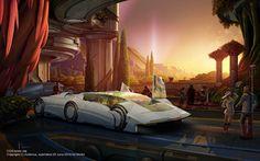 The Blur: The Retro Future: The Art of Syd Mead
