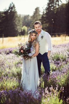 Lavender Fields for Engagement