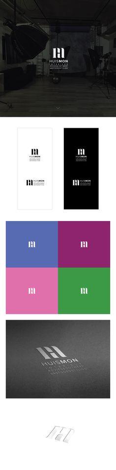 Negative space monogram logo. Negative Space Logos, Monogram Logo, Logo Design