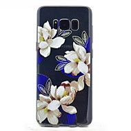 For+Samsung+Galaxy+S8+S8+Plus+Flower+Pattern+Soft+TPU+Material+Phone+Case+–+AUD+$+7.42