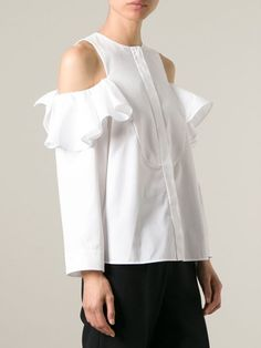 Viktor & Rolf Off-the-shoulder Shirt - Stefania Mode - Farfetch.com