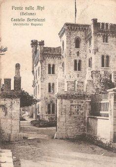 Castello Bortoluzzi, Ponte nelle Alpi, Belluno Dolomiti Veneto Italia