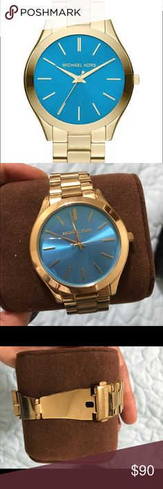 Beautiful Michael Kors Watch MK3265 Lightly worn MK watch with additional links and original tag and box Michael Kors Accessories Watches