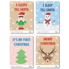 The best free printable gift tags and Santa tags so your Christmas is all wrapped up