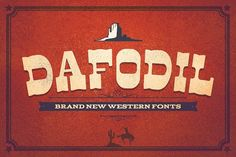 Dafodil & Extra by Flavortype on @creativemarket
