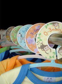 Animales del parque zoológico bebé armario separadores