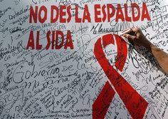 No des la espalda al sida. #DiaMundialVIH2016